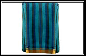 Handloom -body with vertical stripes, jerry boarder, rich jerry pallu, plam blouse piece, Rs. 350-4000/-