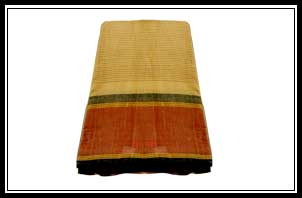 Handloom -body with small lines, jerry lines on border of pallu with blouse, Rs. 350-4000/-